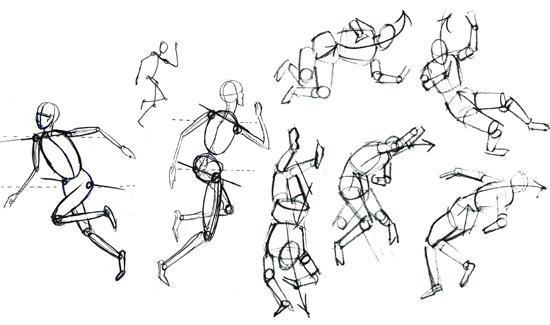 mouvement corps humain